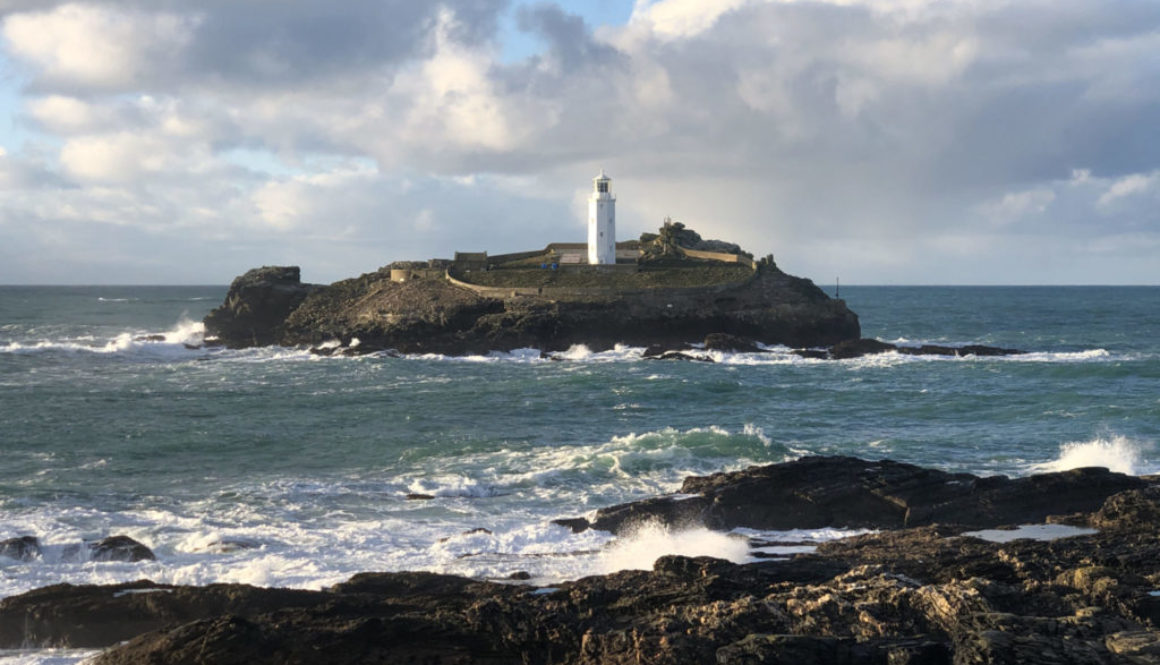 Godrevy Lighthouse Close Up